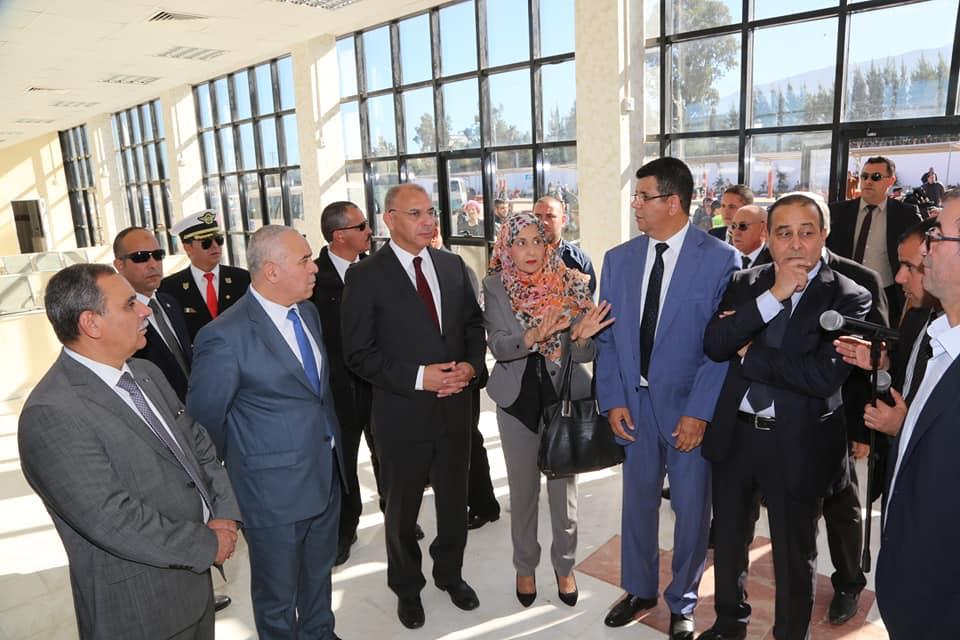 Inauguration de la nouvelle Gare Routière de BLIDA